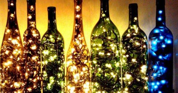 Reciclando Vino Ribera del Duero para Navidad