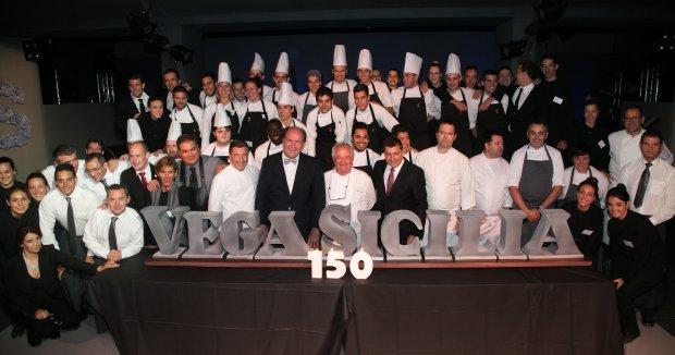 Gala del 150 Aniversario, Vega Sicilia